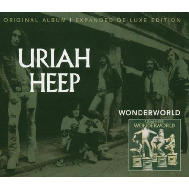 Uriah Heep WONDERWORLD Vinyl Record