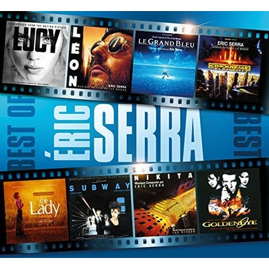 Eric Serra BEST OF CD