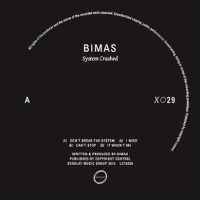 Bimas SYSTEM CRASHED Vinyl Record