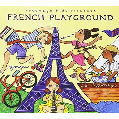 Putumayo Kids Presents FRENCH PLAYGROUND CD