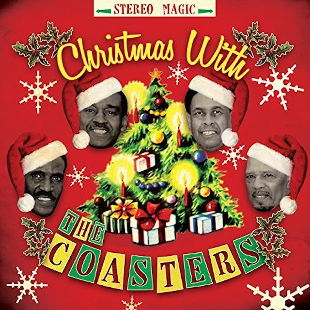 CHRISTMAS WITH THE COASTERS CD