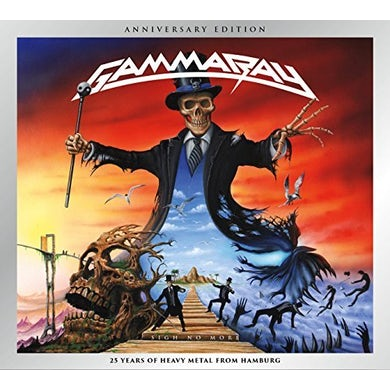 Gamma Ray SIGH NO MORE 25TH ANNIVERSARY EDITION CD