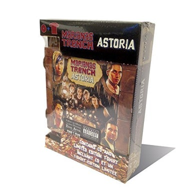 Marianas Trench ASTORIA (FAN PACK) CD