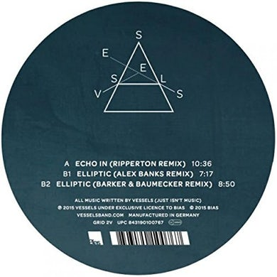 Vessels DILATE REMIXES Vinyl Record