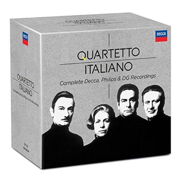 QUARTETTO ITALIANO: COMPLETE PHILIPS & DECCA RECOR CD