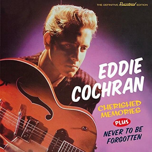 Eddie Cochran CHERISHED MEMORIES / NEVER TO BE FORGOTTEN + 8 CD