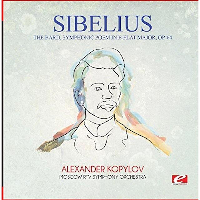 Sibelius THE BARD SYMPHONIC POEM IN E-FLAT MAJOR OP. 64 CD