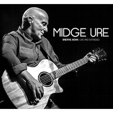 Midge Ure BREATHE AGAIN: LIVE & EXTENDED CD