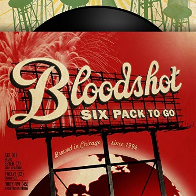 BLOODSHOT SIX PACK TO GO / VARIOUS