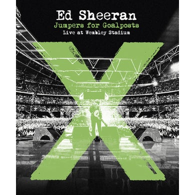 Ed Sheeran JUMPERS FOR GOALPOSTS LIVE AT WEMBLEY STADIUM Blu-ray