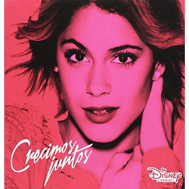 Violetta CRECIMOS JUNTOS CD