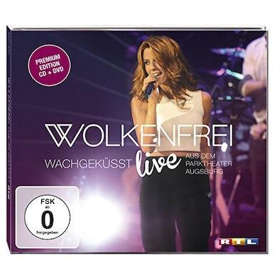 WOLKENFREI WACHGEKUSST (LIVE) CD