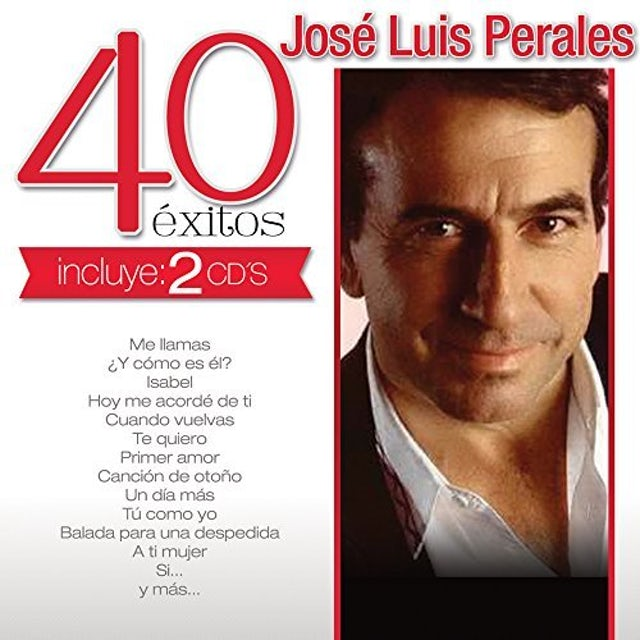 Jose Luis Perales 40 EXITOS CD