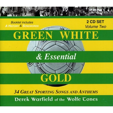 Derek Warfield GREEN WHITE & ESSENTIAL GOLD 2 CD