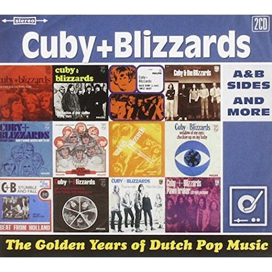 Cuby & Blizzards GOLDEN YEARS OF DUTCH POP MUSIC: A&B SIDES & MORE CD