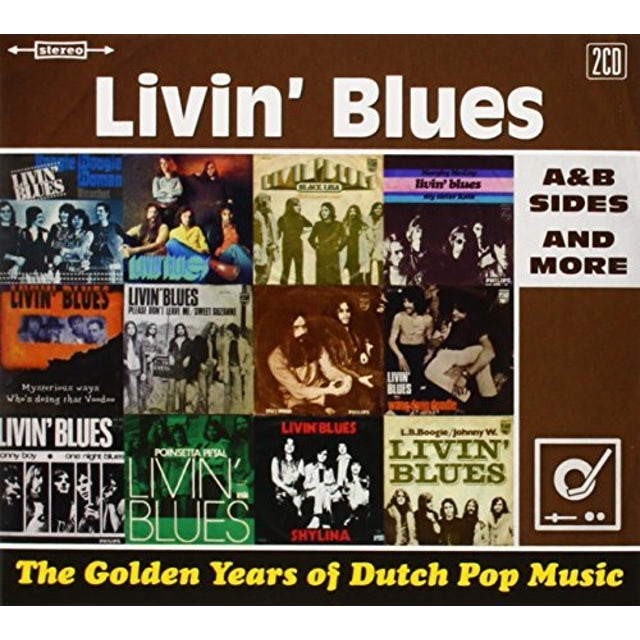 LIVIN' BLUES GOLDEN YEARS OF DUTCH POP MUSIC: A&B SIDES & MORE CD