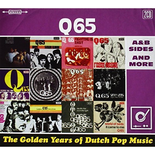 Q65 GOLDEN YEARS OF DUTCH POP MUSIC: A&B SIDES & MORE CD