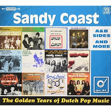 SANDY COAST GOLDEN YEARS OF DUTCH MUSIC CD