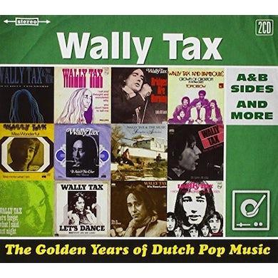 Wally Tax GOLDEN YEARS OF DUTCH POP MUSIC CD