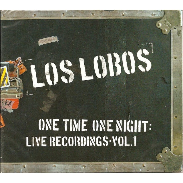 Los Lobos ONE TIME ONE NIGHT: LIVE RECORDINGS 1 CD
