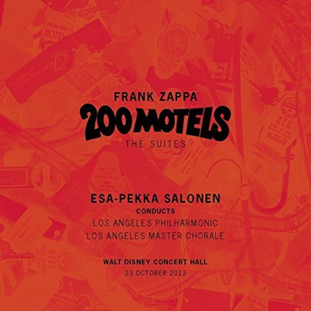 Los Angeles Philharmonic FRANK ZAPPA: 200 MOTELS - THE SUITES CD
