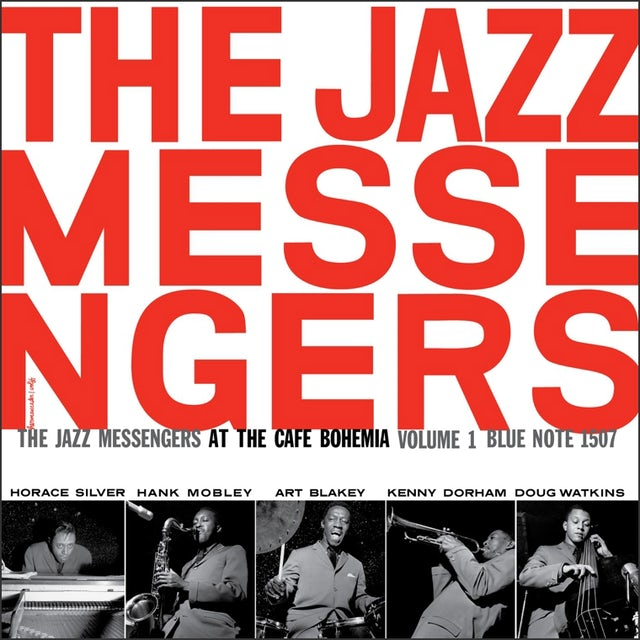 Jazz Messengers AT THE CAFE BOHEMIA 1 Vinyl Record