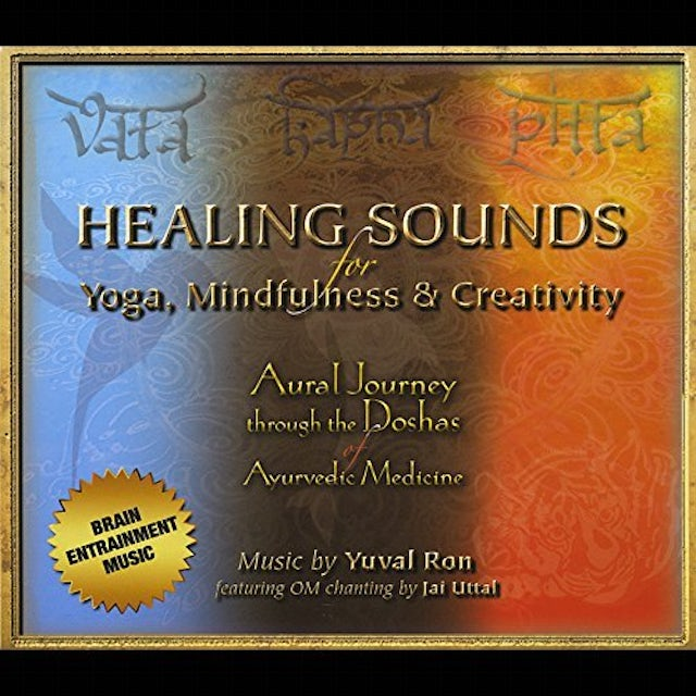 Yuval Ron HEALING SOUNDS FOR YOGA MINDFULNESS & CREATIVITY CD