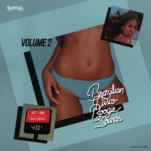 Charles Maurice BRAZILIAN DISCO BOOGIE SOUNDS VOLUME 2, 1977-1984 CD