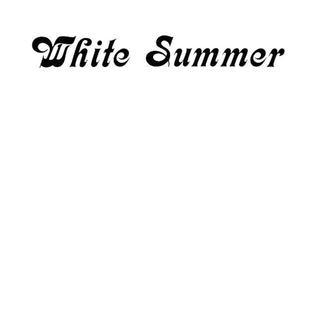 WHITE SUMMER CD