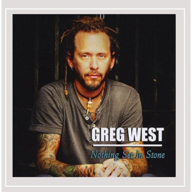 Greg West NOTHING SET IN STONE CD