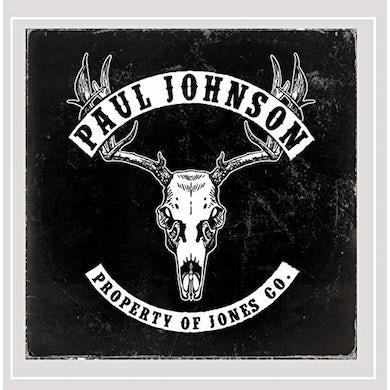 Paul Johnson PROPERTY OF JONES CO. CD