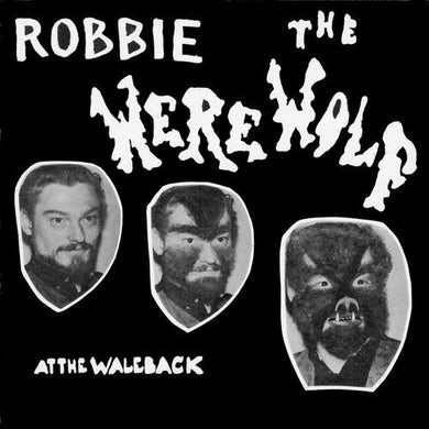 ROBBIE THE WEREWOLF AT THE WALE BACK CD