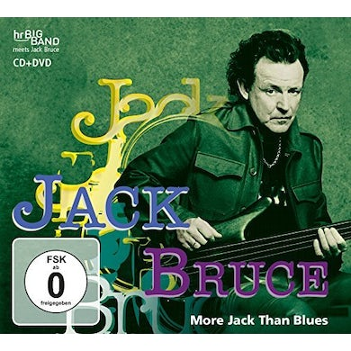 Jack Bruce MORE JACK THAN BLUES CD