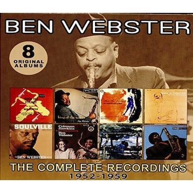 Ben Webster COMPLETE RECORDINGS: 1952-1959 CD