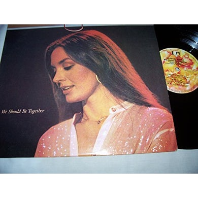 Crystal Gayle WE SHOULD BE TOGETHER Vinyl Record
