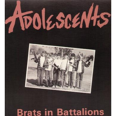 Adolescents BRATS IN BATTALIONS Vinyl Record