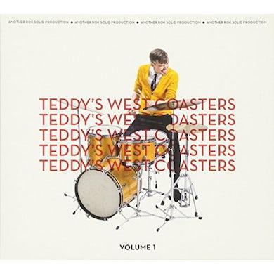 TEDDY'S WEST COASTERS VOLUME 1 CD