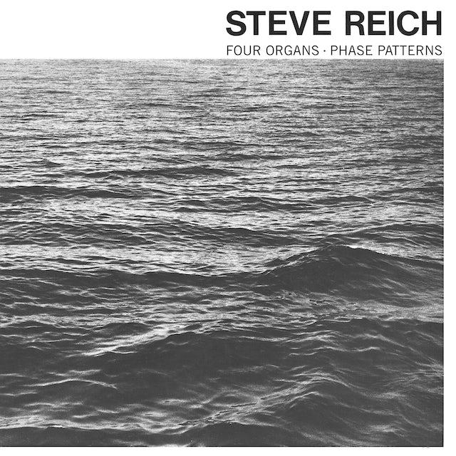 Steve Reich FOUR ORGANS / PHASE PATTERNS CD
