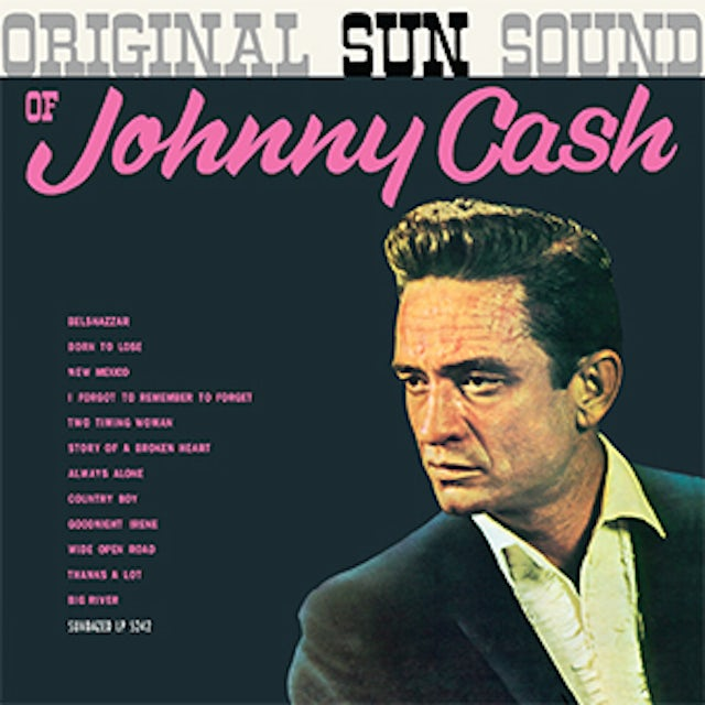 Johnny Cash ORIGINAL SUN SOUND Vinyl Record