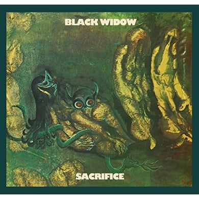 Black Widow SACRIFICE Vinyl Record