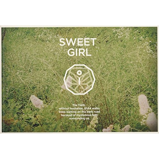 B1A4 SWEET GIRL ( BOY VERSION ) /HK EXCLUSIVE CD+DVD+ CD