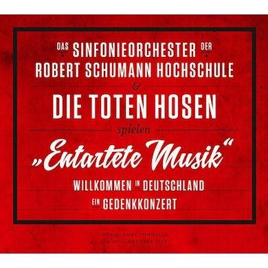 Die Toten Hosen ENTARTETE MUSIK-WILLKOMMEN IN DEUTSCHLAND CD