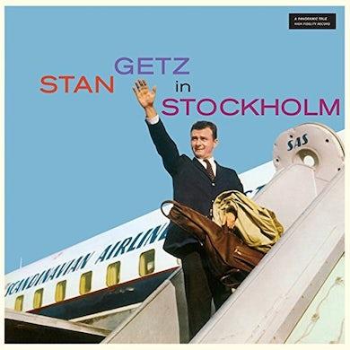 STAN GETZ IN STOCKHOLM Vinyl Record