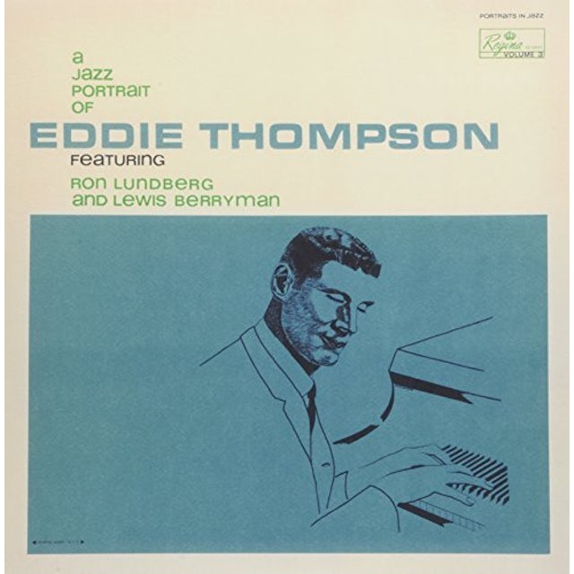 Eddie Thompson JAZZ PORTRAIT OF Vinyl Record