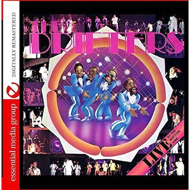 Drifters LIVE AT THE BOTTOM LINE CD