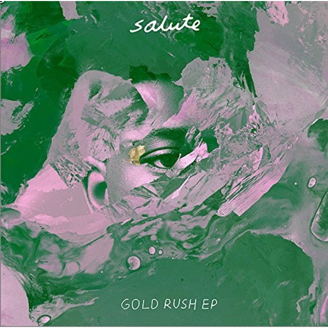 salute GOLD RUSH EP Vinyl Record