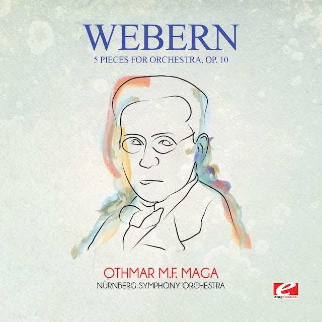 Webern 5 PIECES FOR ORCHESTRA OP. 10 CD