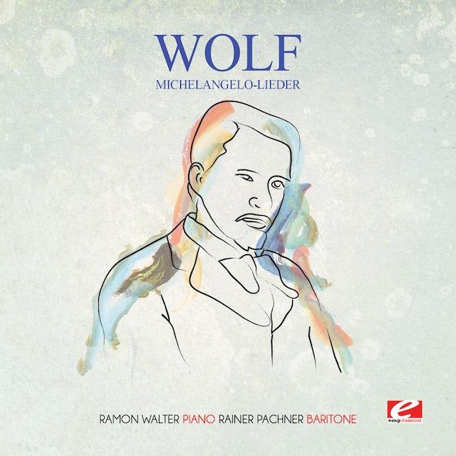 Wolf MICHELANGELO-LIEDER CD