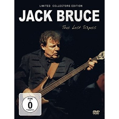Jack Bruce LOST TAPES DVD