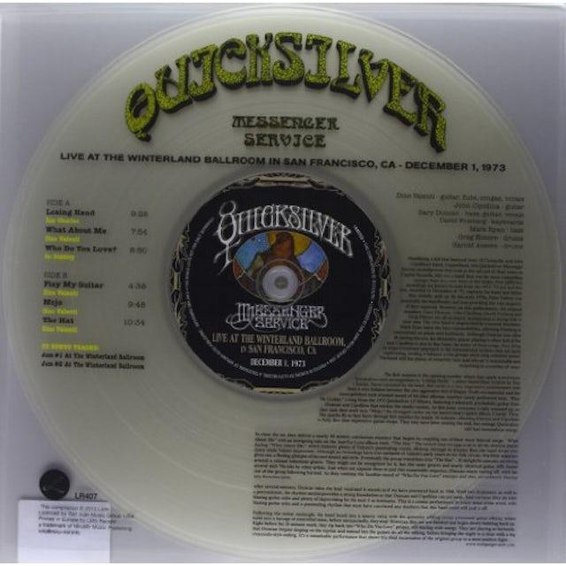 Quicksilver Messenger Service LIVE AT THE WINTERLAND BALLROOM IN SAN FRANCISCO Vinyl Record